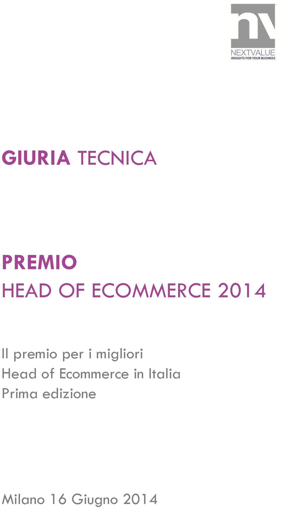 of Ecommerce in Italia Prima