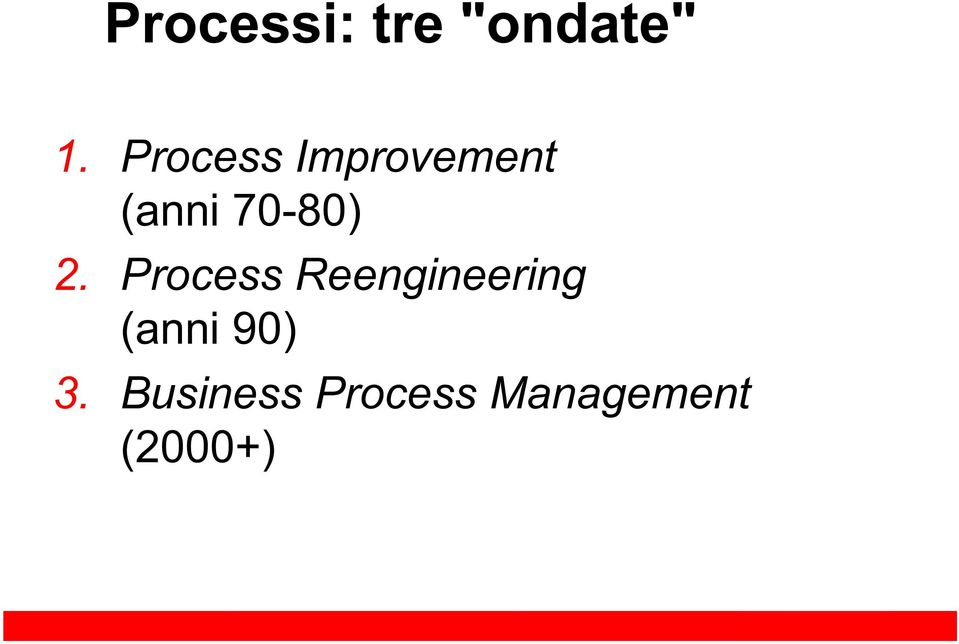 2. Process Reengineering (anni
