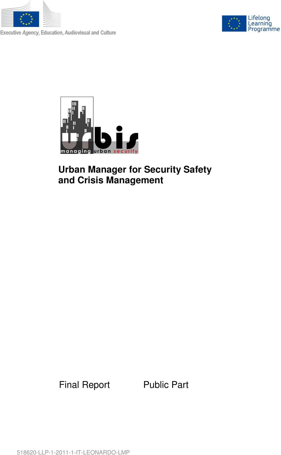 Safety and Crisis Management Final Report