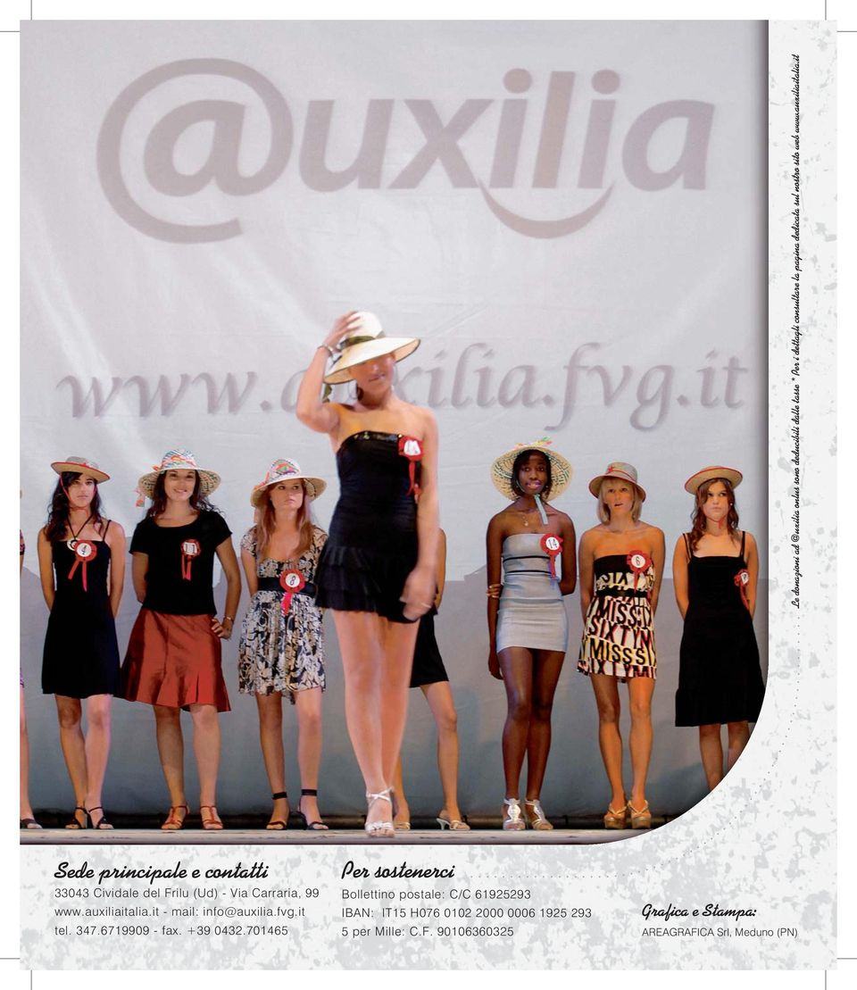 auxiliaitalia.it - mail: info@auxilia.fvg.it tel. 347.6719909 - fax. +39 0432.