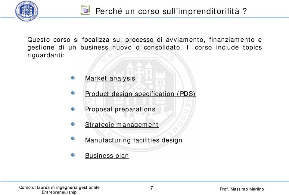 business nuovo o consolidato.
