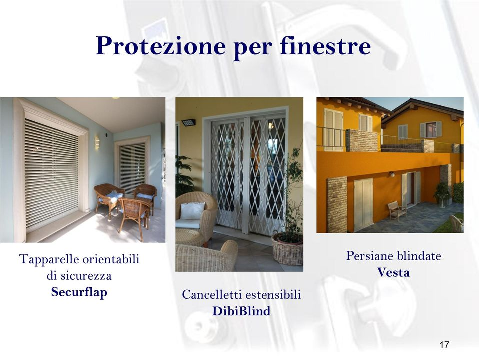 sicurezza Securflap Cancelletti