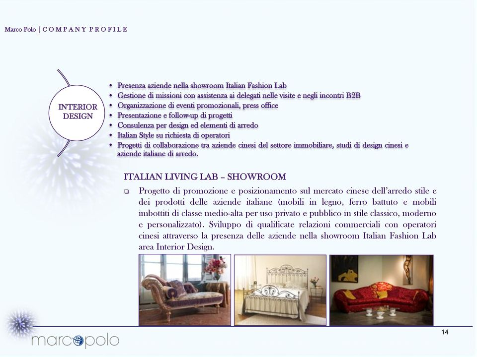 studi di design cinesi e aziende italiane di arredo. ITALIAN LIVING LAB SHOWROOM!