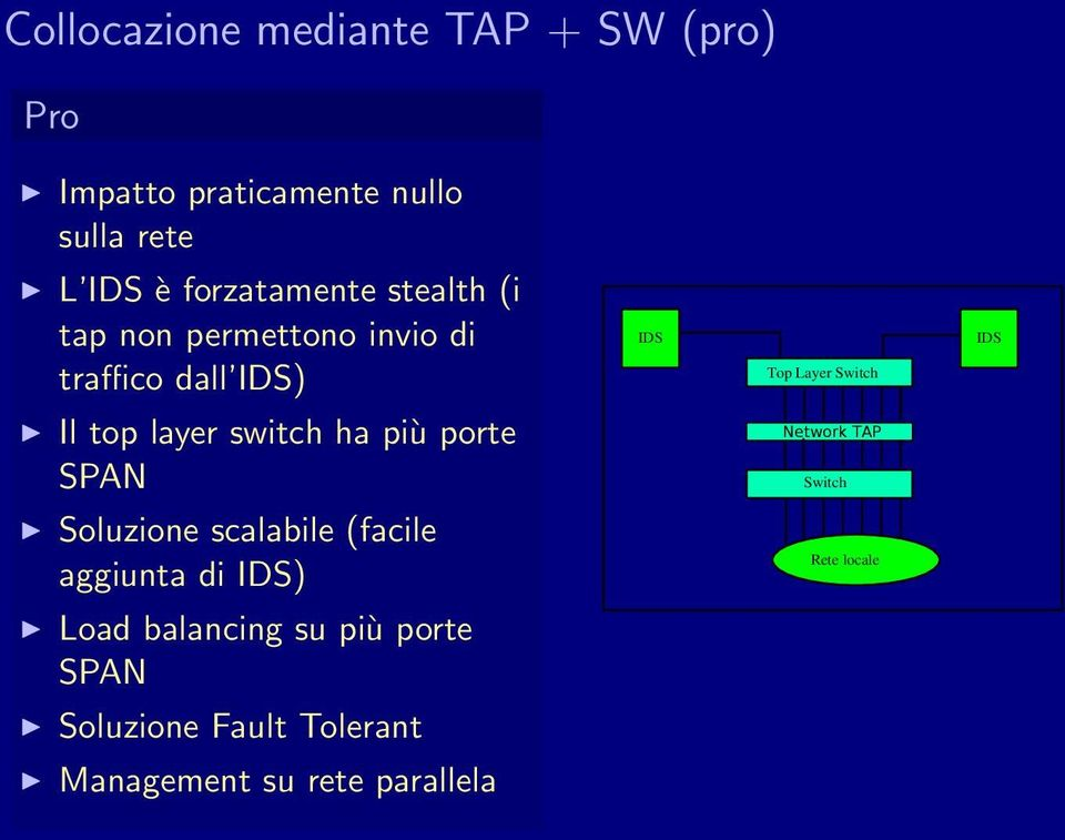 layer switch ha più porte SPAN Network TAP Switch Soluzione scalabile (facile aggiunta di )