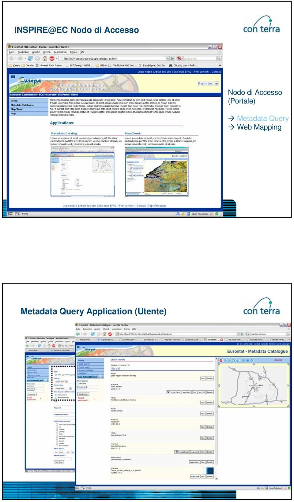 Metadata Query Web Mapping