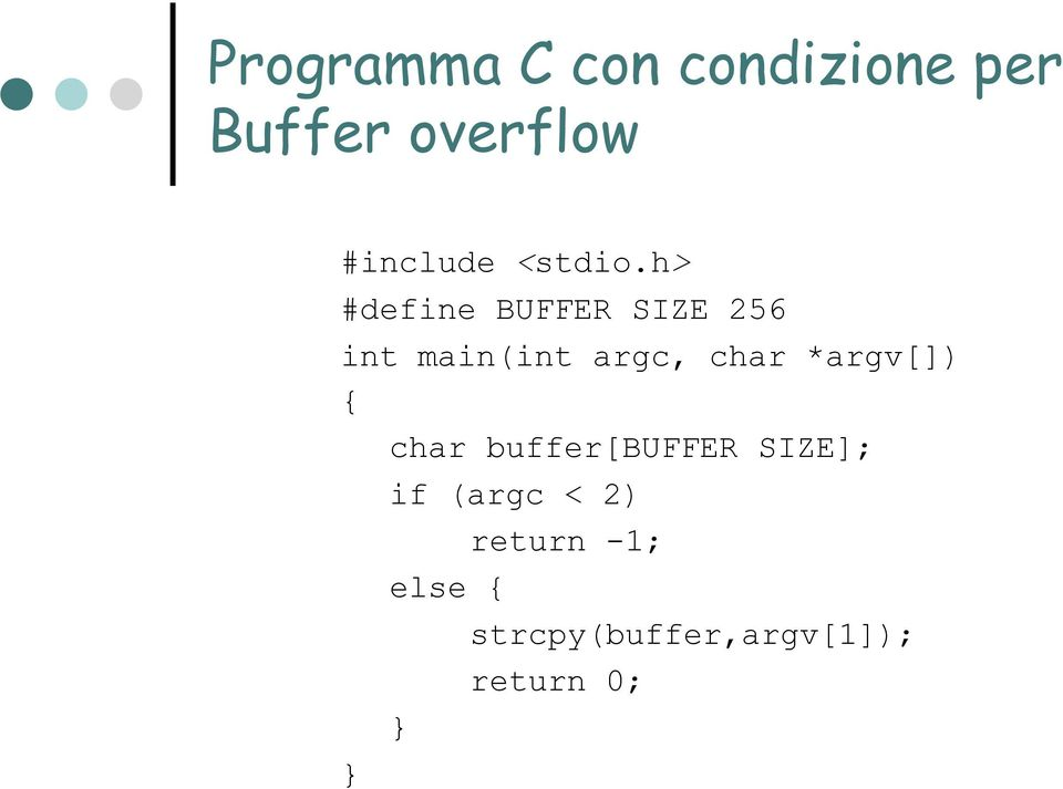 h> #define BUFFER SIZE 256 int main(int argc, char