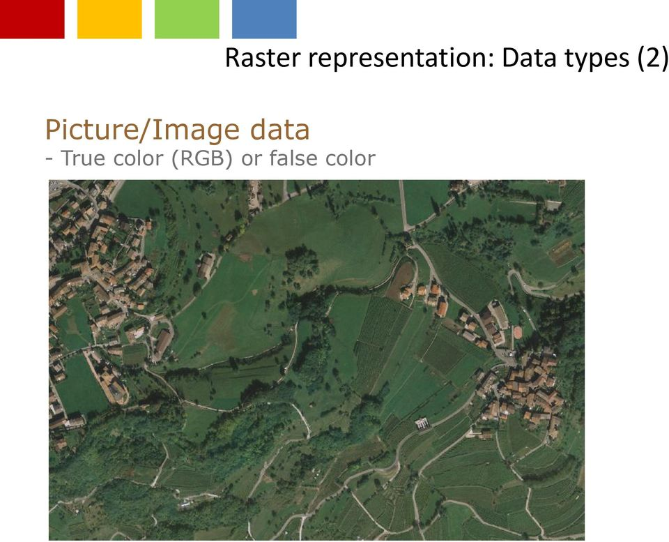 false color Raster