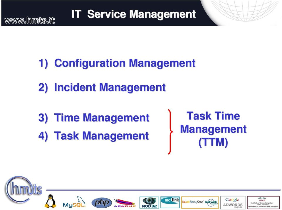 Incident Management 3) Time