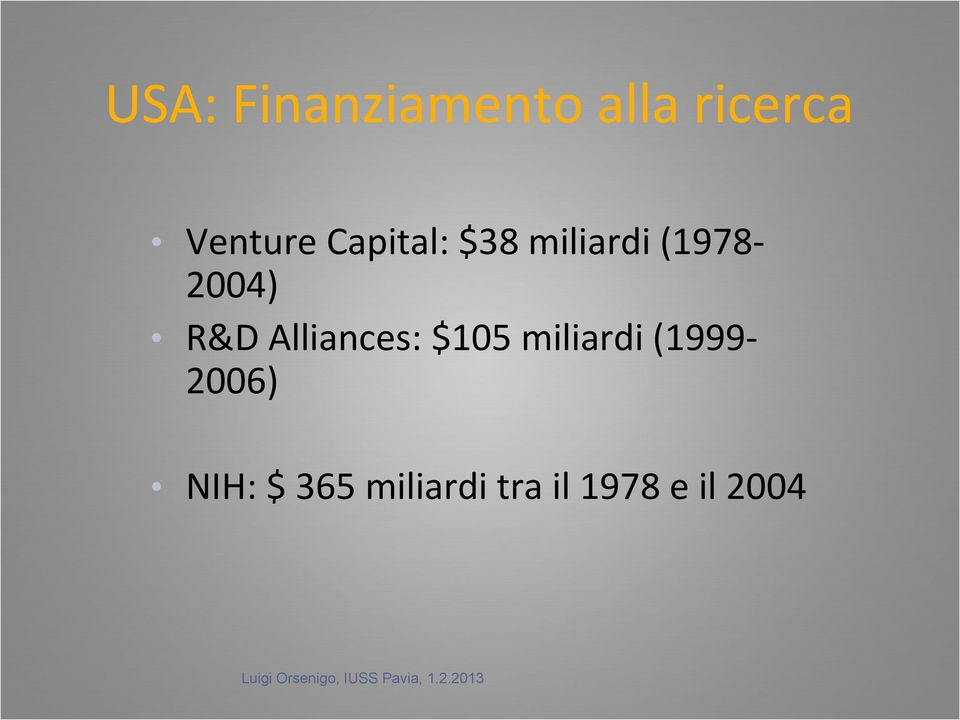 (1978-2004) R&D Alliances: $105