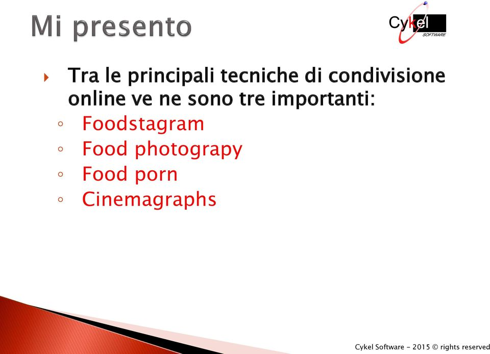 tre importanti: Foodstagram