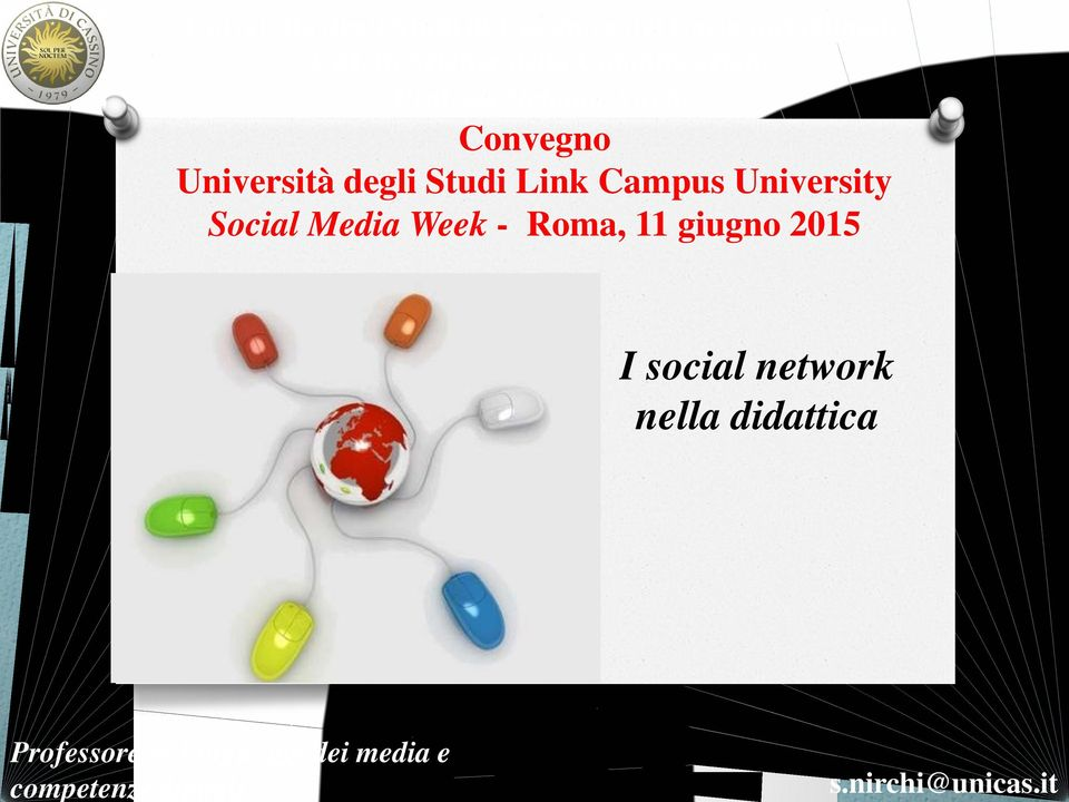 Università degli Studi Link Campus University Social Media