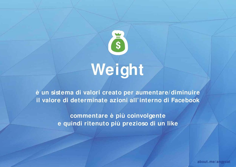 all interno di Facebook commentare è più