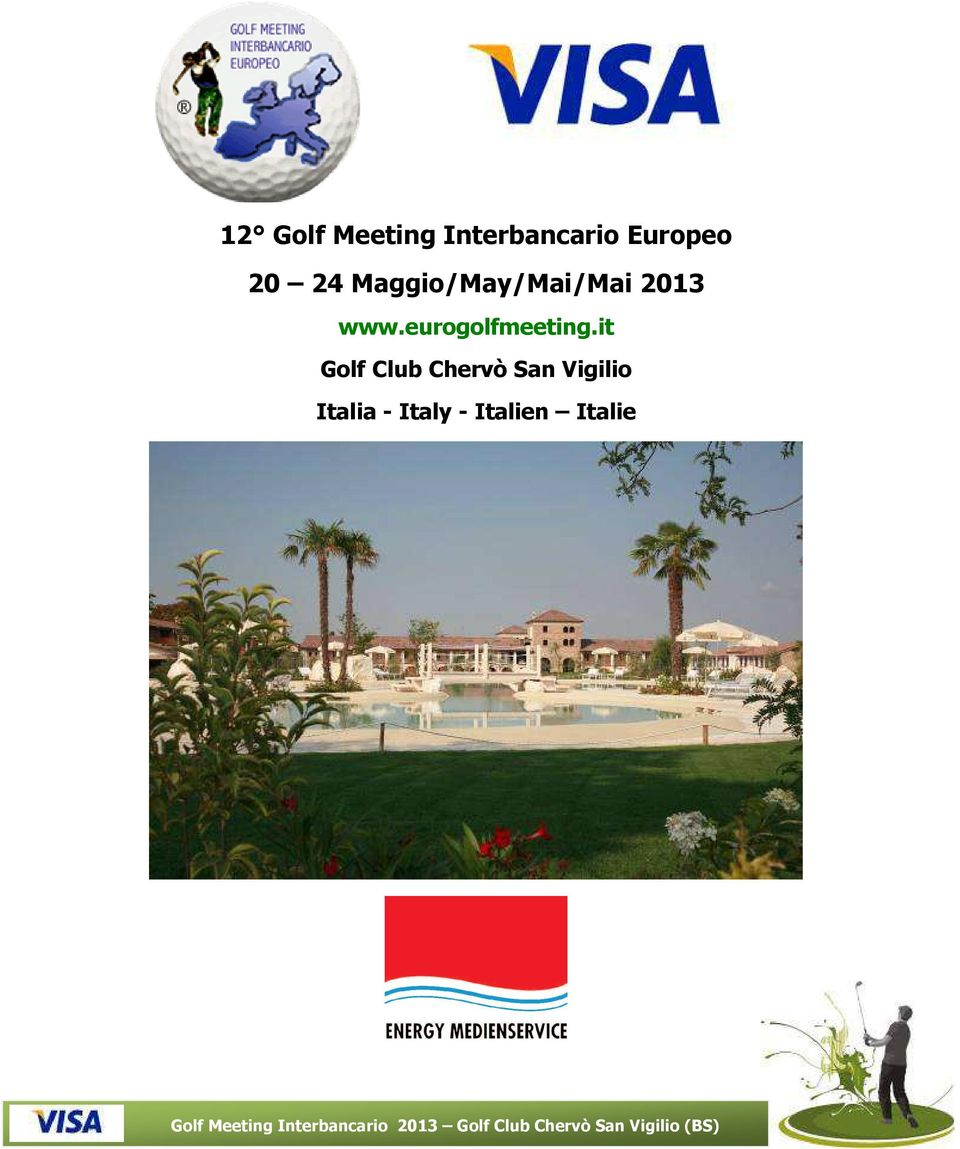 it Golf Club Chervò San Vigilio Italia - Italy -