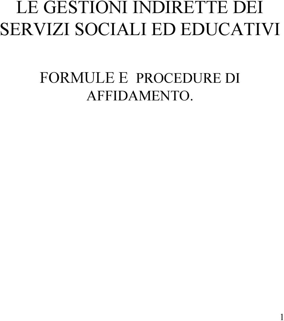 EDUCATIVI FORMULE E