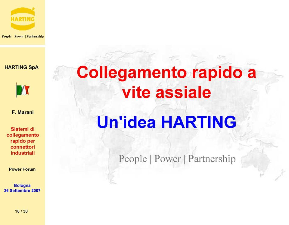 Un'idea HARTING