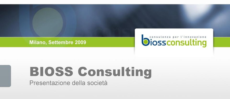BIOSS Consulting