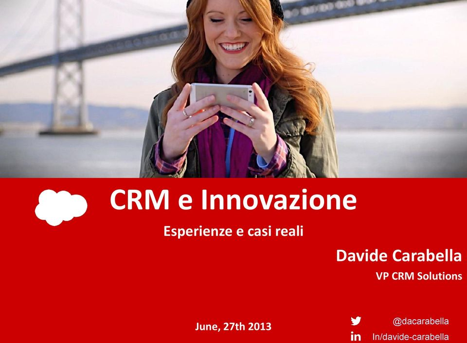 CRM Solutions June, 27th 2013