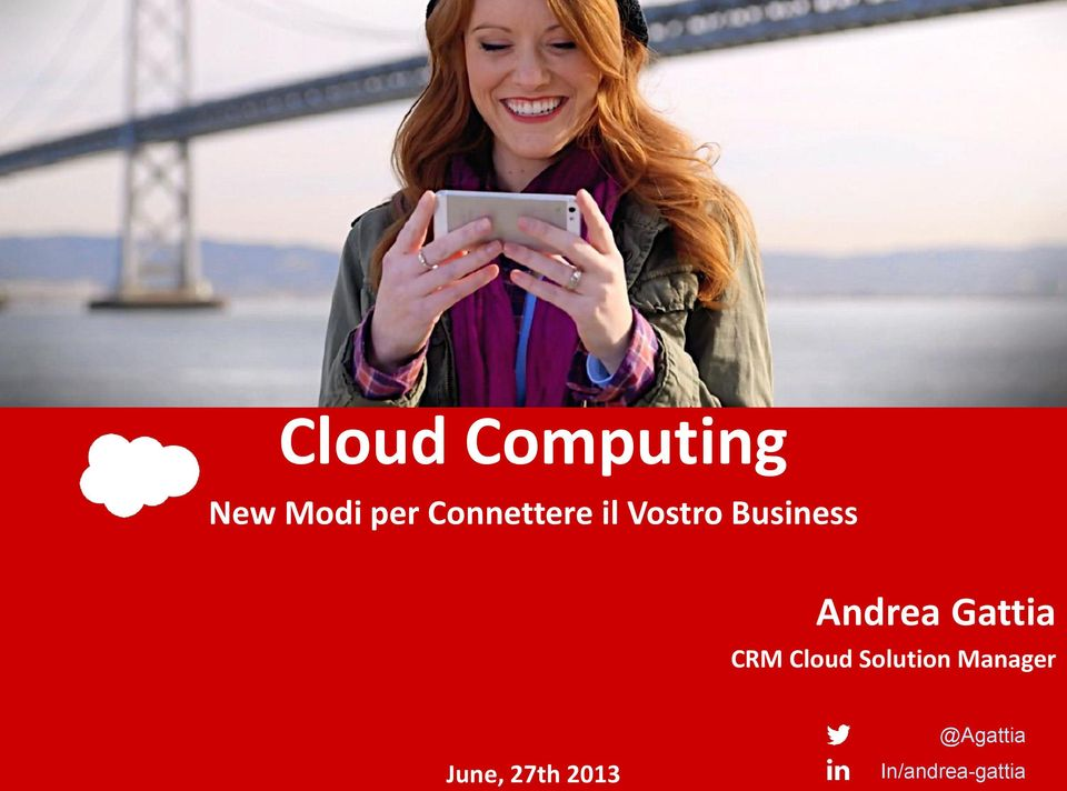 Andrea Gattia CRM Cloud Solution