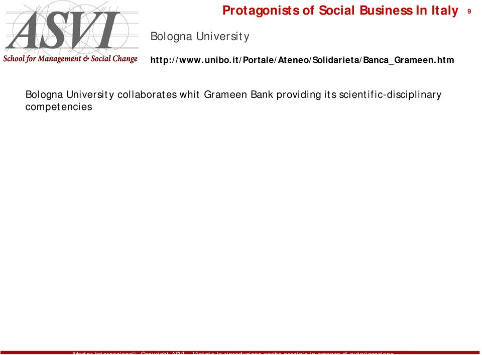 htm Bologna University collaborates whit