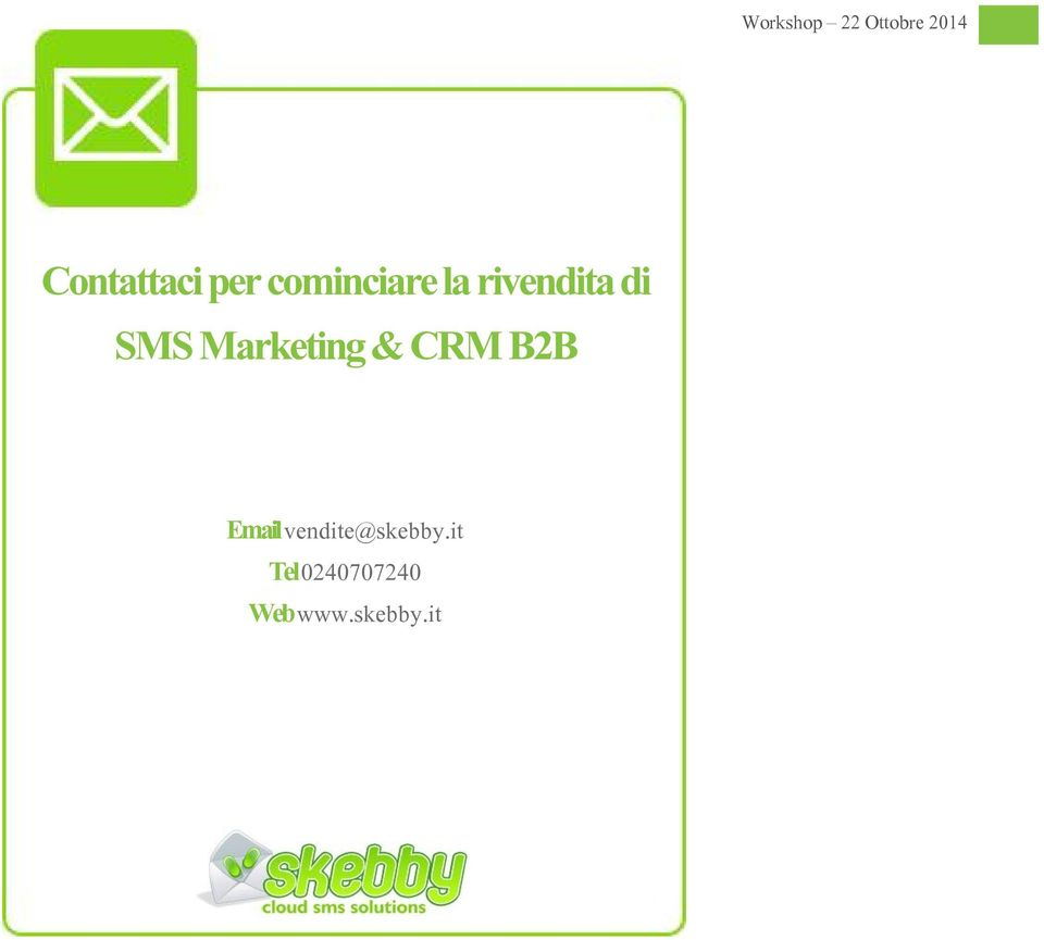 Marketing & CRM B2B