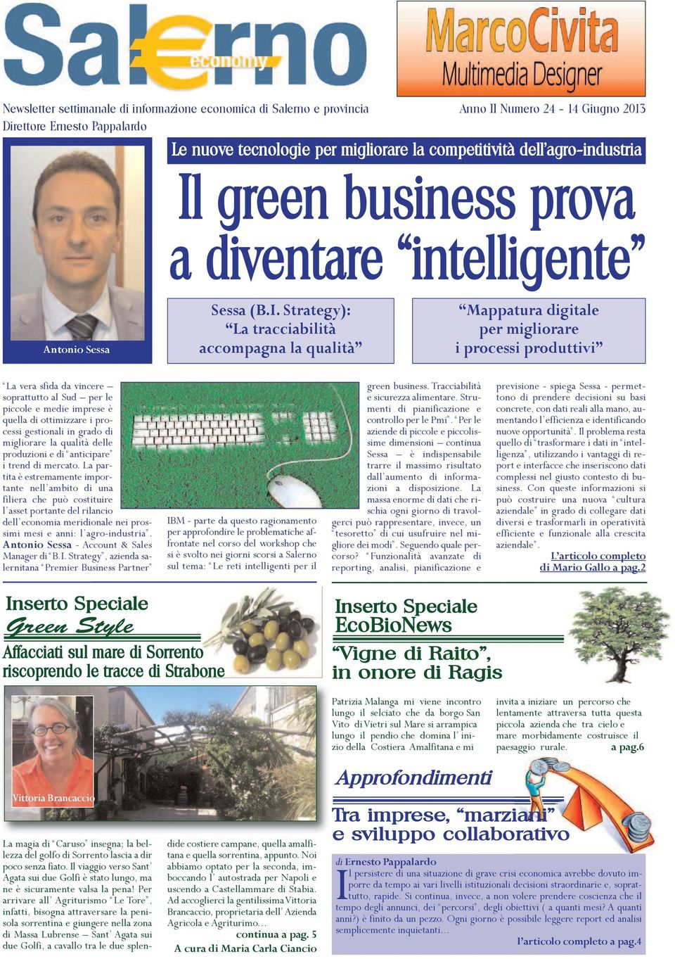 green business prova a diventare intelligente Antonio Sessa Sessa (B.I.