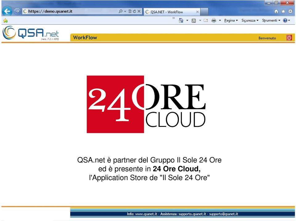 in 24 Ore Cloud,