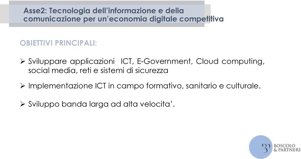 E-Government, Cloud computing, social media, reti e sistemi di sicurezza