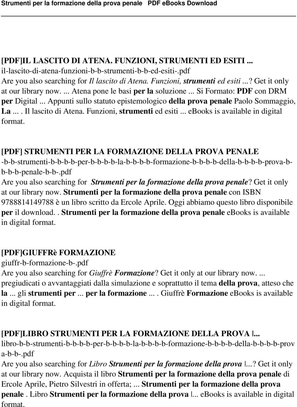 ... Il lascito di Atena. Funzioni, strumenti ed esiti... ebooks is available in digital format.