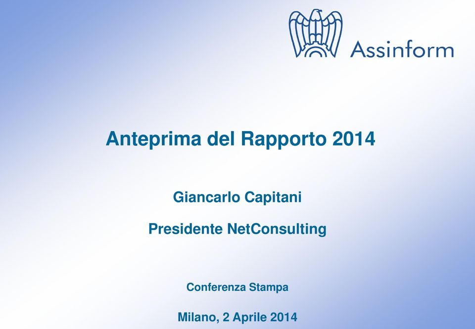 NetConsulting Conferenza Stampa