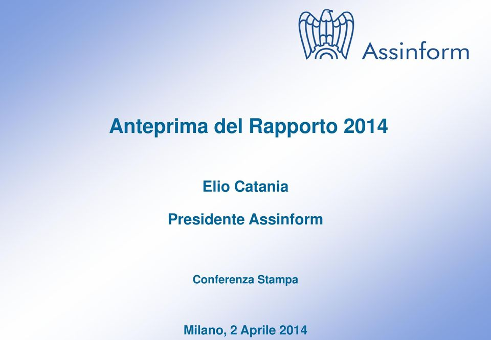 Assinform Conferenza Stampa