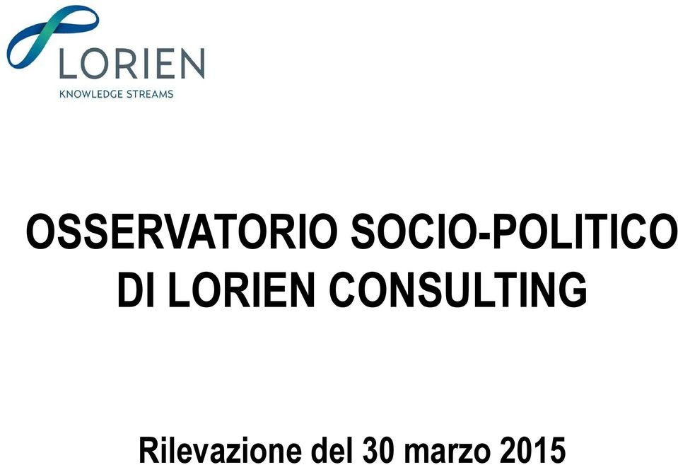LORIEN CONSULTING