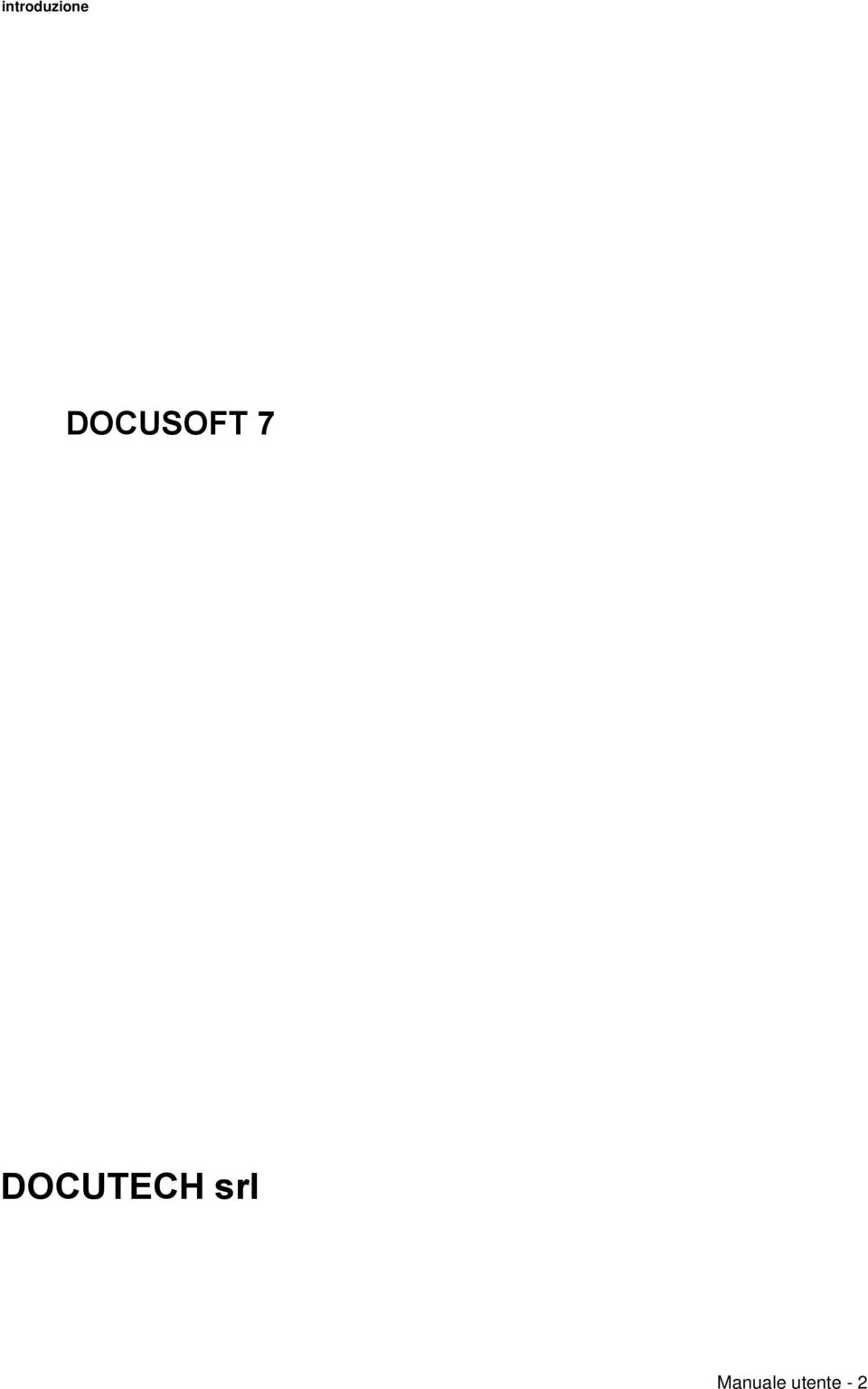 DOCUTECH srl