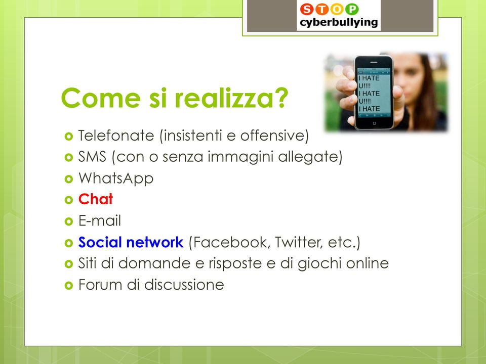 immagini allegate) WhatsApp Chat E-mail Social network