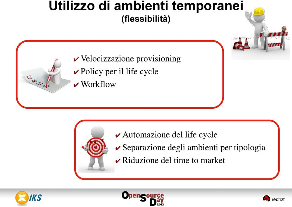cycle Workflow Automazione del life cycle