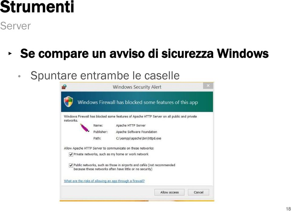 sicurezza Windows