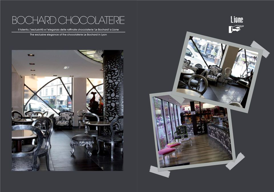 chocolaterie Le Bochard a Lione The