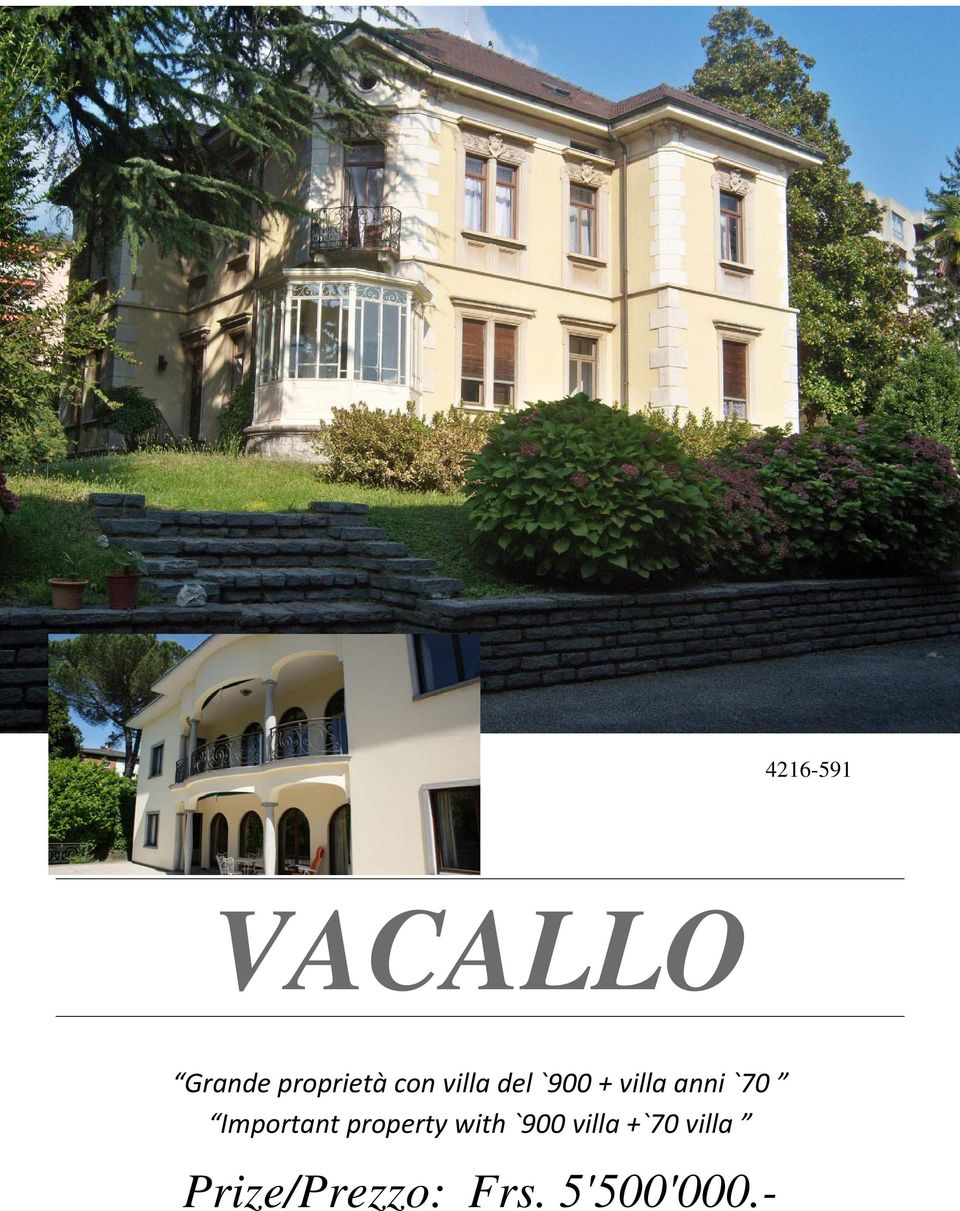 Important property with `900 villa