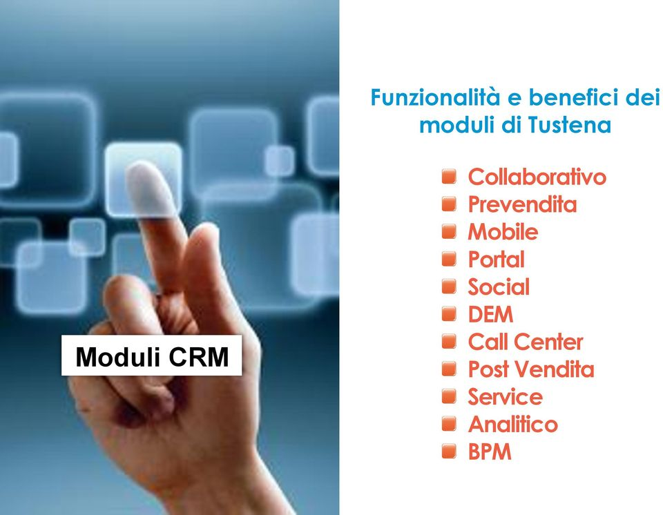 Collaborativo Prevendita Mobile Portal