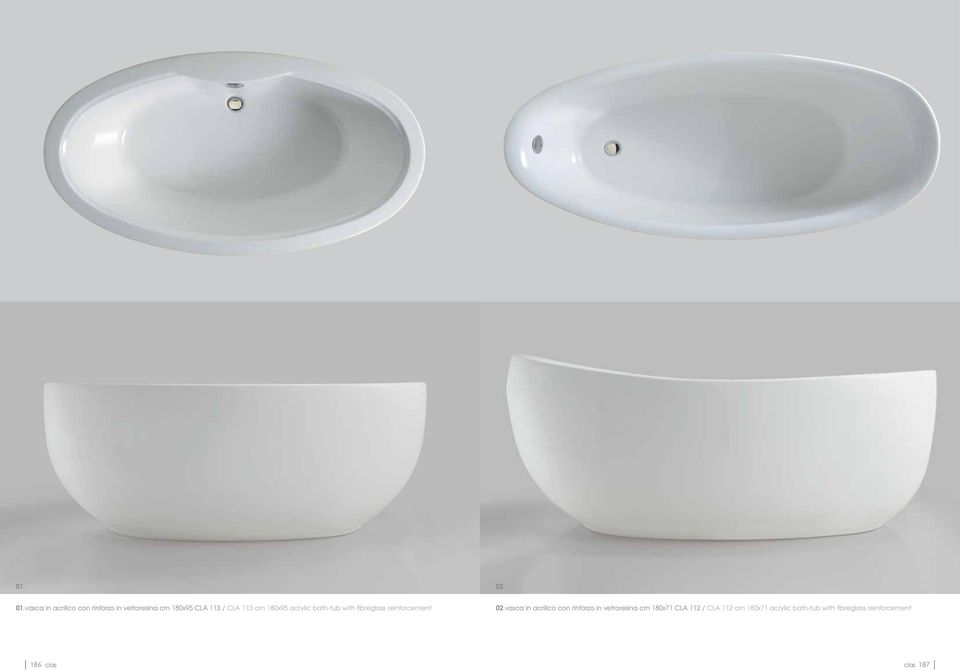 cm 180x95 acrylic bath-tub with fibreglass reinforcement 02.