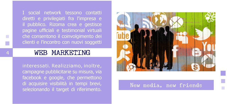 incontro con nuovi soggetti WEB MARKETING interessati.