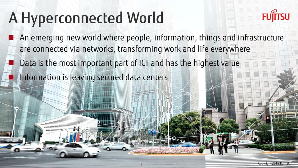 everywhere Data is the most important part of ICT and has the highest value