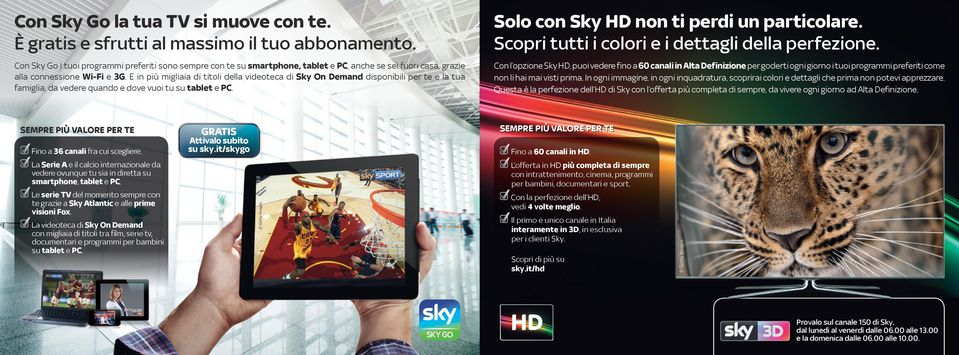 Una tv dedicata a te per darti sempre pi valore pdf - Sky on demand film da vedere ...