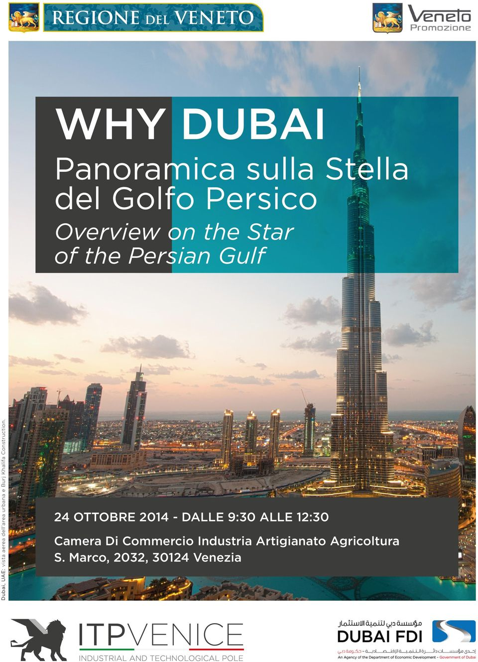 Overview on the Star of the Persian Gulf 24 OTTOBRE 2014 - DALLE 9:30