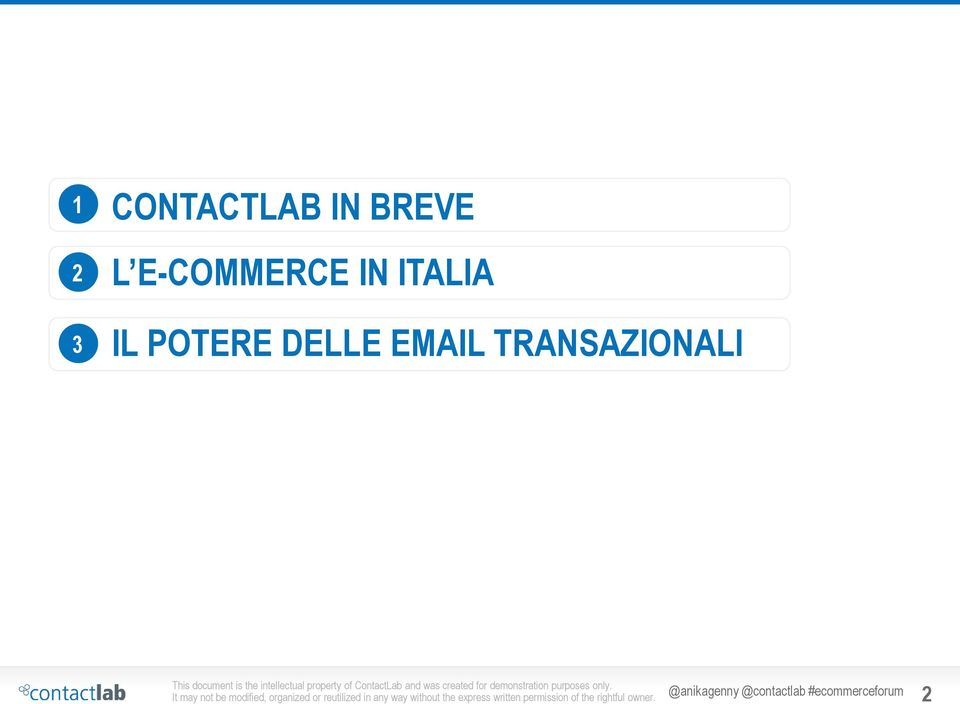POTERE DELLE EMAIL