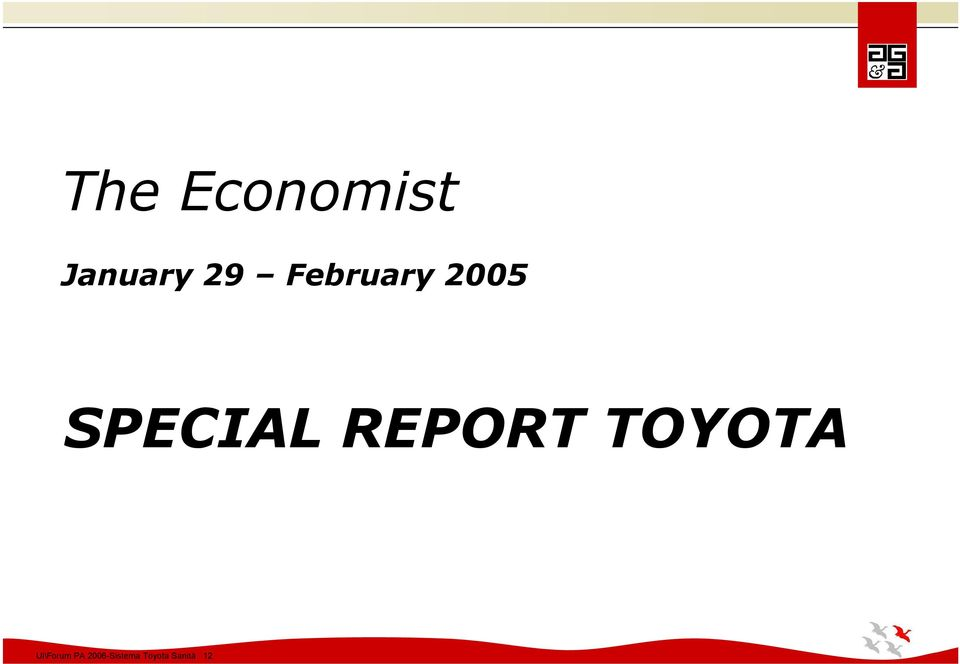 REPORT TOYOTA Ul\Forum PA