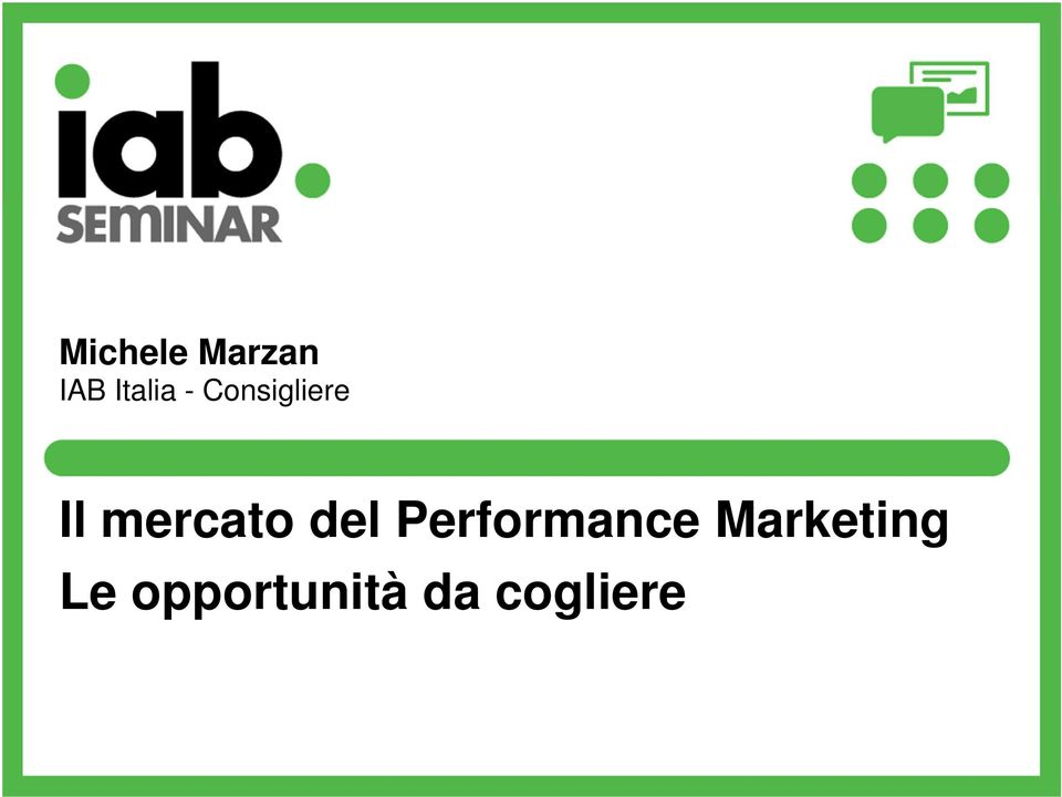 del Performance Marketing
