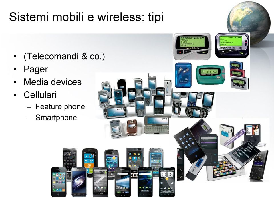 ) Pager Media devices