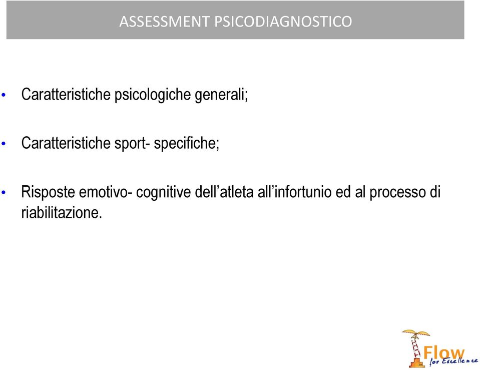 specifiche; Risposte emotivo- cognitive dell