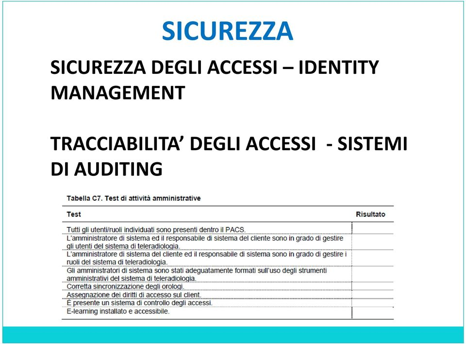MANAGEMENT TRACCIABILITA