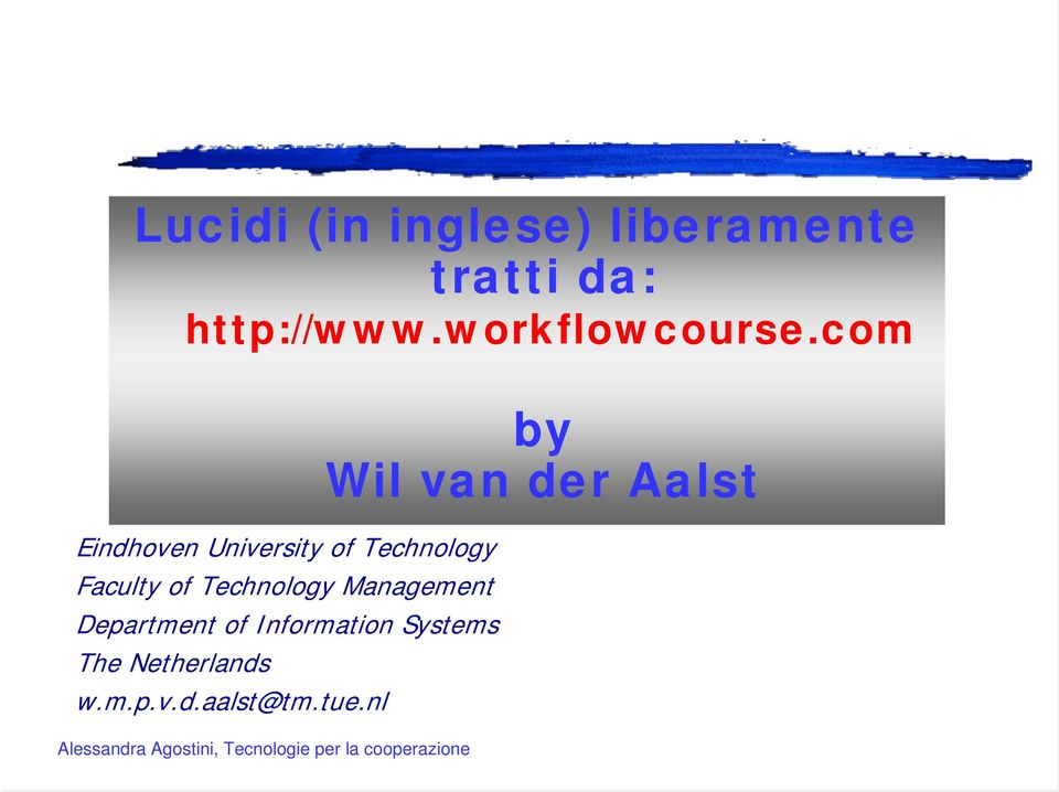 com Eindhoven University of Technology Faculty of